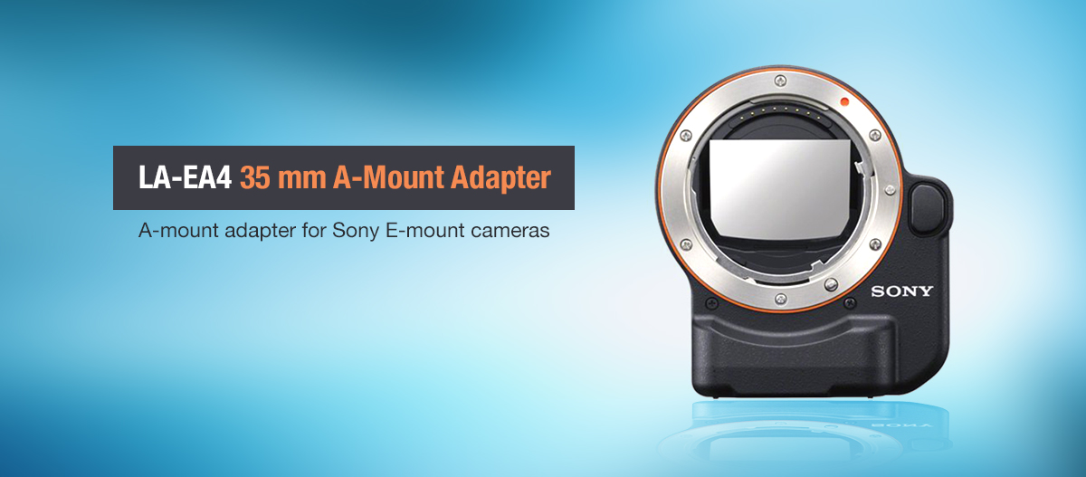 LA-EA4 35mm Full-Frame A-Mount Adapter For Sony