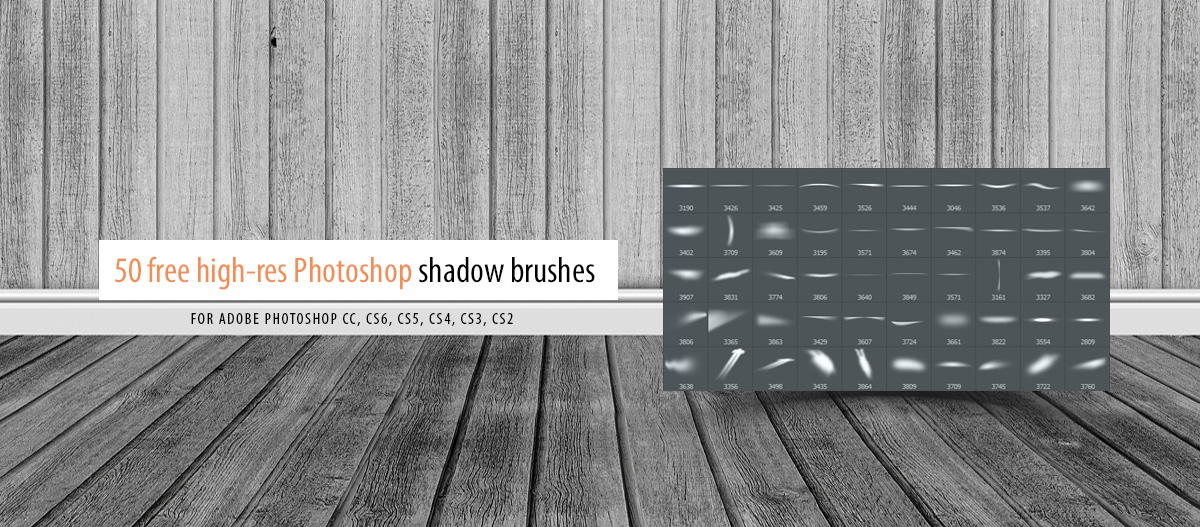 shadow brushes for adobe photoshop